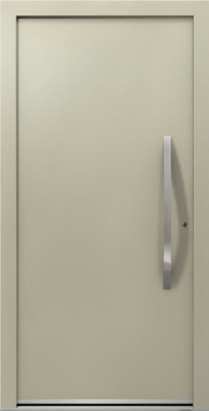 Beige Aluminum Entrance Door AT 310
