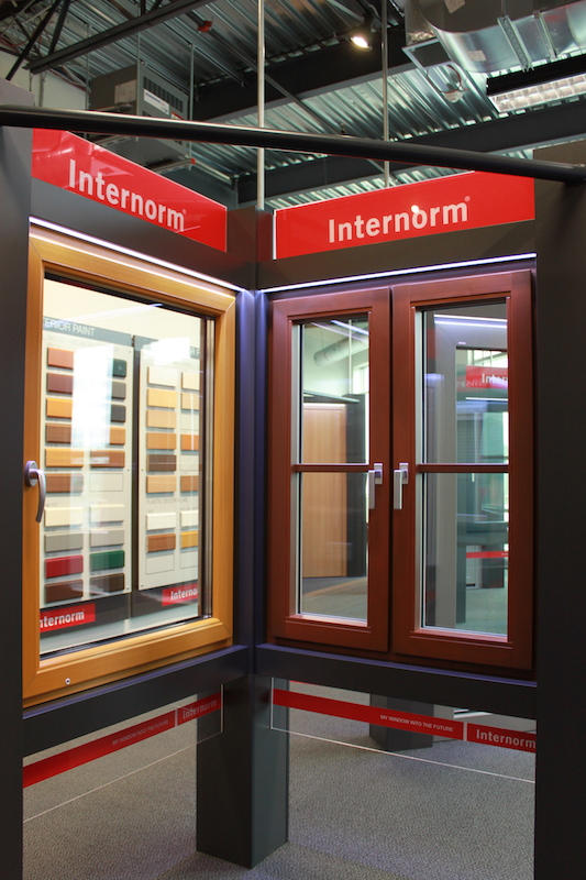 UPVC Windows with Colour Foil NeuFenster Windows and Doors