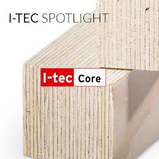Picture showcasing the I-tec core technology wood