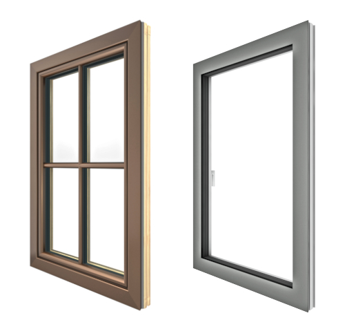 Custom Tilt Turn Windows and Doors European Upvc Aluminum Wood Windows NeuFenster Canada