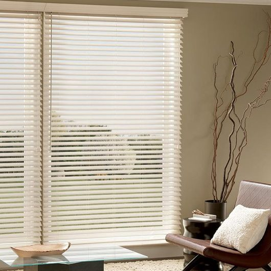 2 Faux Wood And Premium Faux Wood Blinds Graber Lake Forest By SWFcontract From Springs