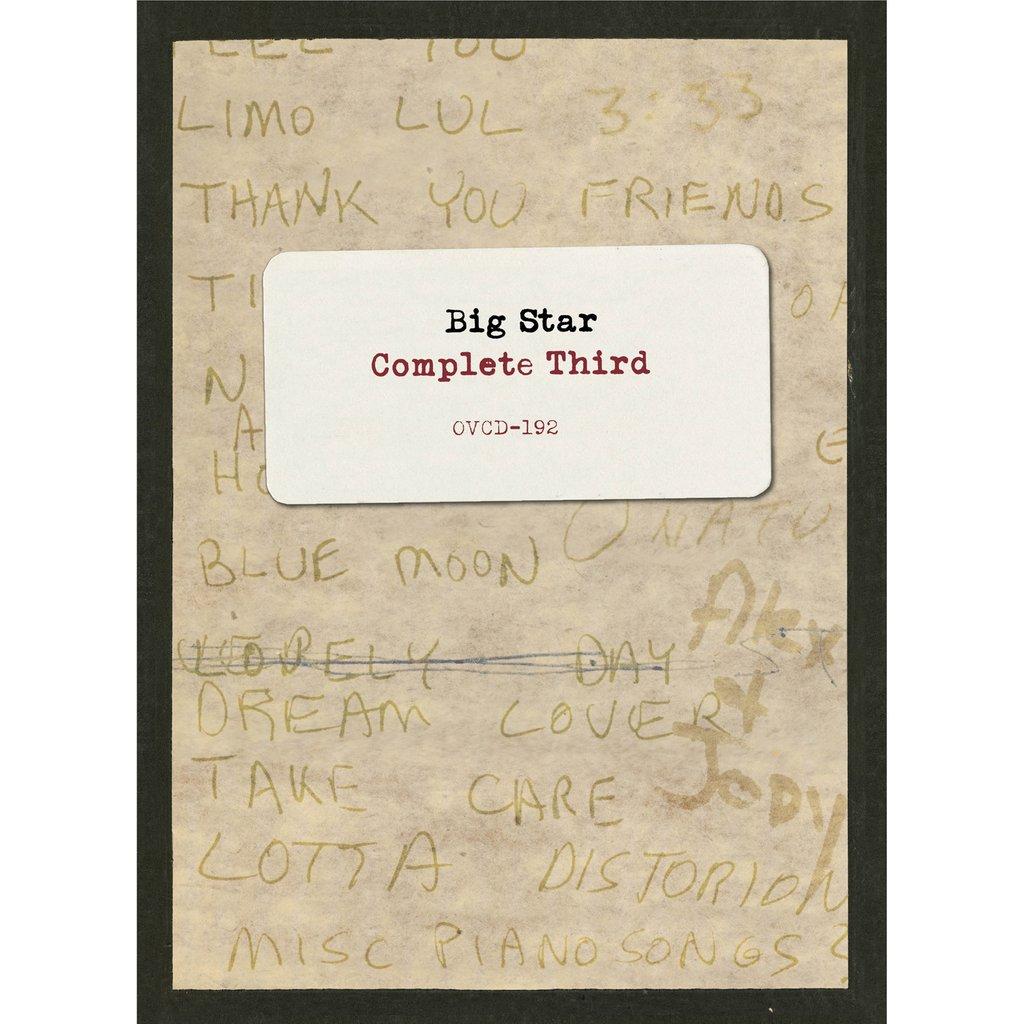 Big Star – Complete Third (CD Boxset)