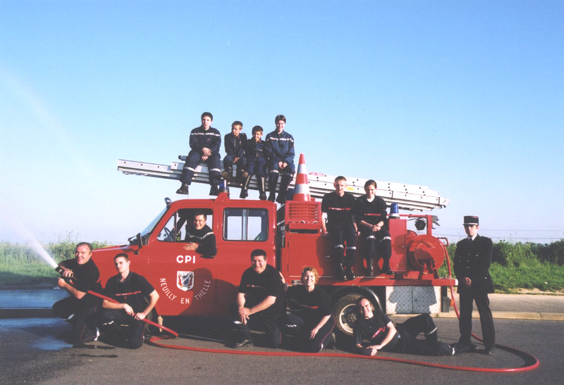 pompiers neuilly en thelle - oise
