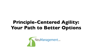 Principle-Centered Agility - Your Path to Better Options