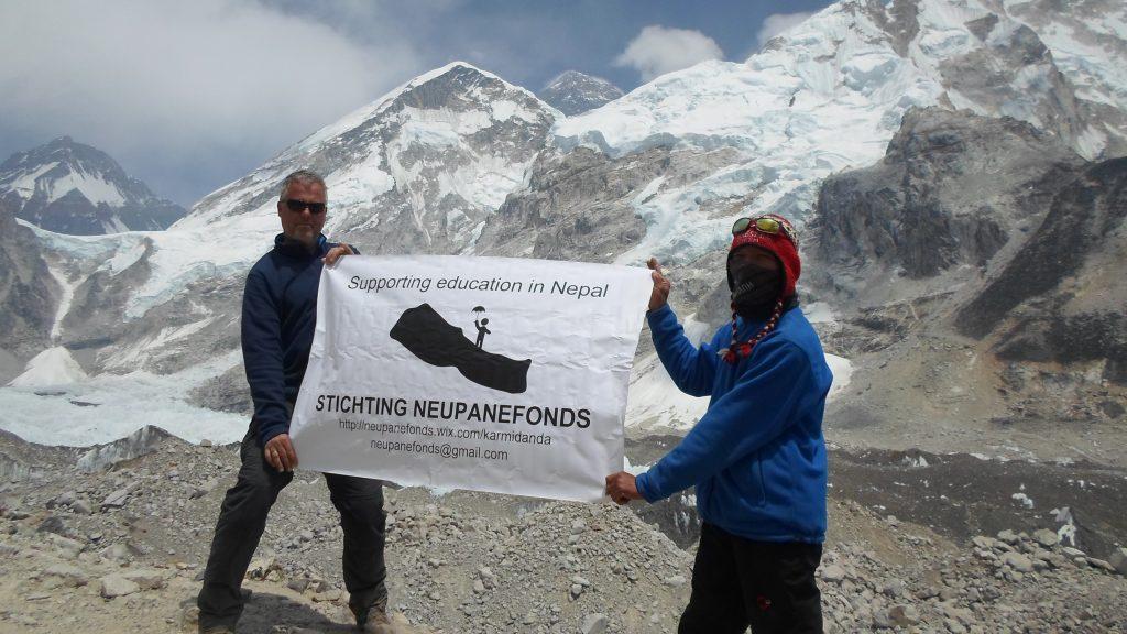 Guido de Bekker in Nepal