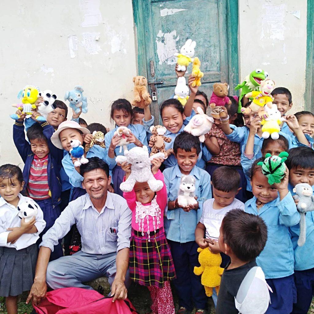 knuffels in Nepal