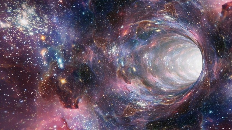 A Wormhole In Space
