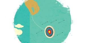 moving target symbolizes changing autism criteria
