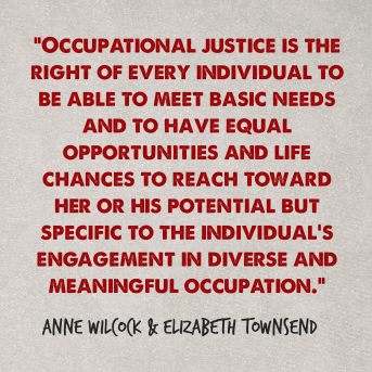 occupational justice