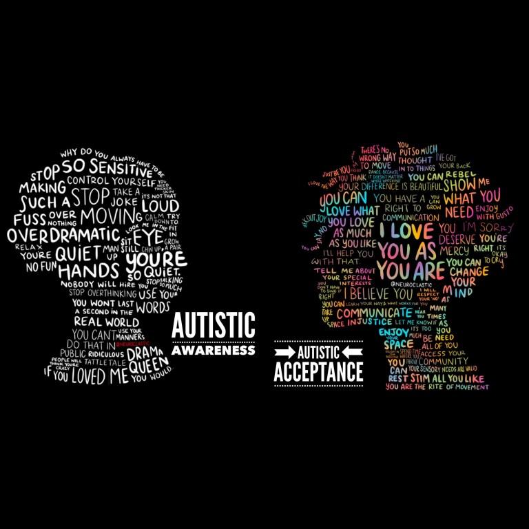 Autistic Awareness + Autistic Acceptance