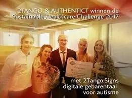 2Tango wint Sustainable Healthcare
