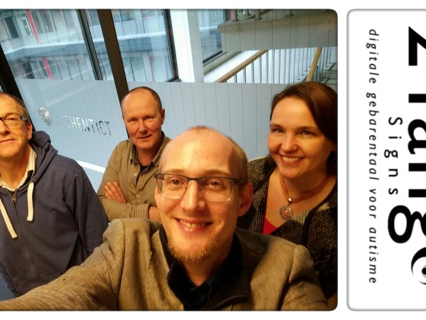 2Tango starting to work together with Authentict with Maryse, Kees, Tjerk and Peter