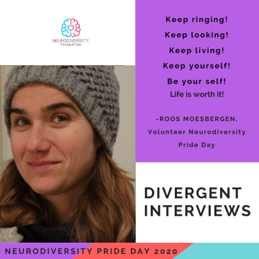 Neurodiversity Pride Day 2020 - Roos Moesbergen