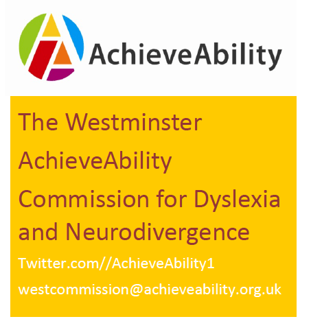AchieveAbility Call for evidence from employees with dyslexia/neurodivergence