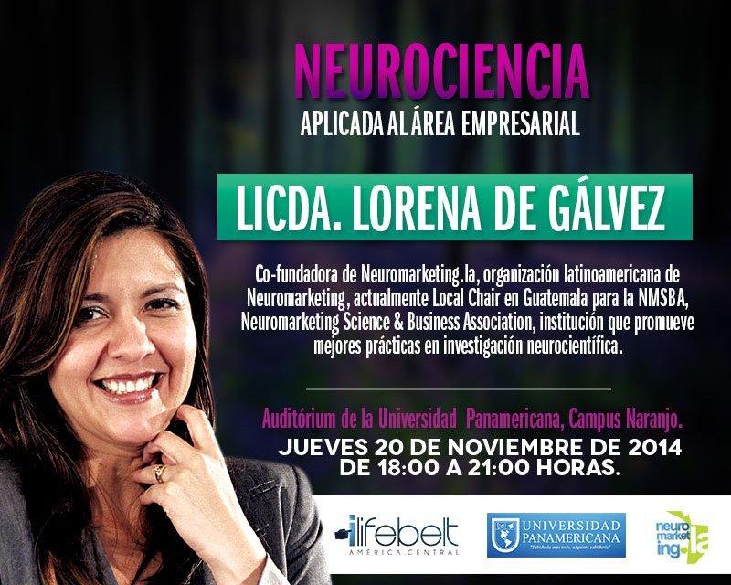 Neurociencia Aplicada al Área Empresarial – Guatemala – 20 de Noviembre