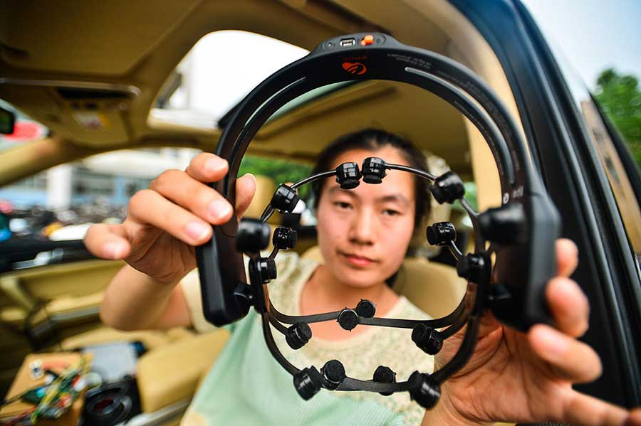 Automóvil controlado con la mente en China #neuromarketing