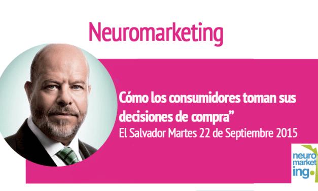 """""""Cómo los consumidores toman sus decisiones de compra"""" El Salvador Martes 22 de Septiembre 2015"""
