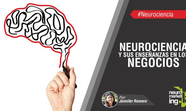 Neurociencia y sus enseñanzas en los Negocios