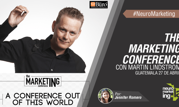 The Marketing Conference con Martin Lindstrom, Guatemala 27 de abril