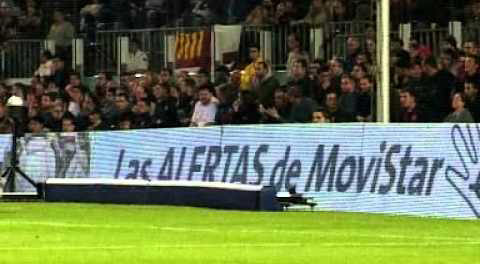 Publicidad en los estadios