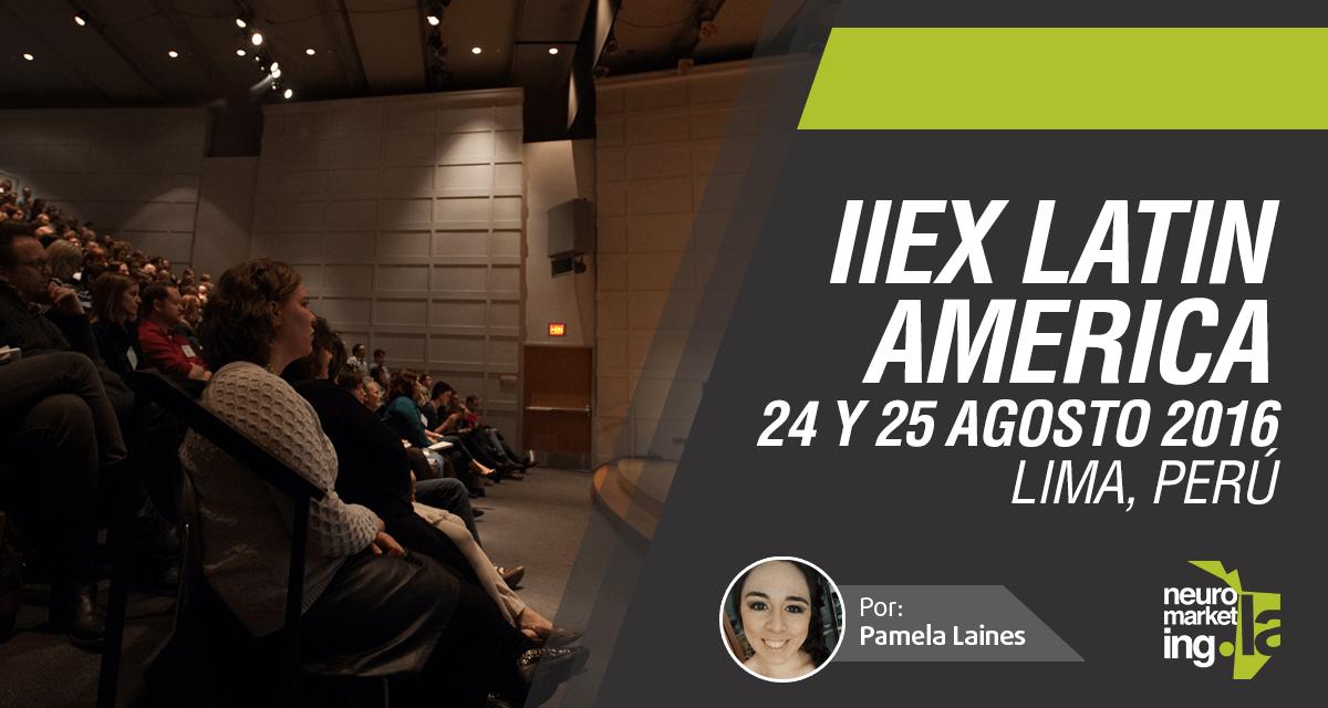 IIeX Latin America 2016, 24 y 25 agosto, Lima Perú