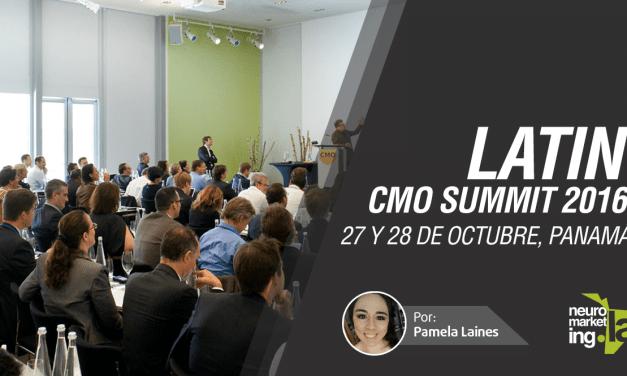 Latin CMO Summit, 27 y 28 de octubre, Panamá