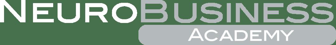 Logo Neurobusiness academy negativo