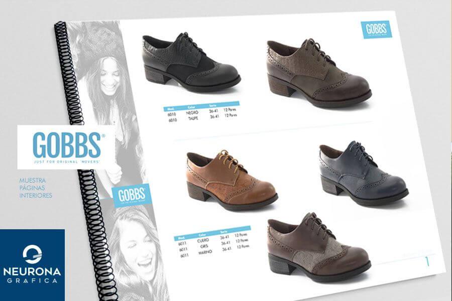 diseño de catálogos para calzado en elche