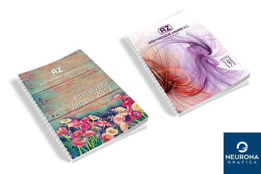 diseño e impresión de catálogos en elche