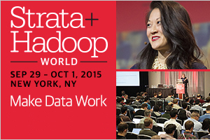 Enter To Win Drawing For Pass to Strata Hadoop World NYC