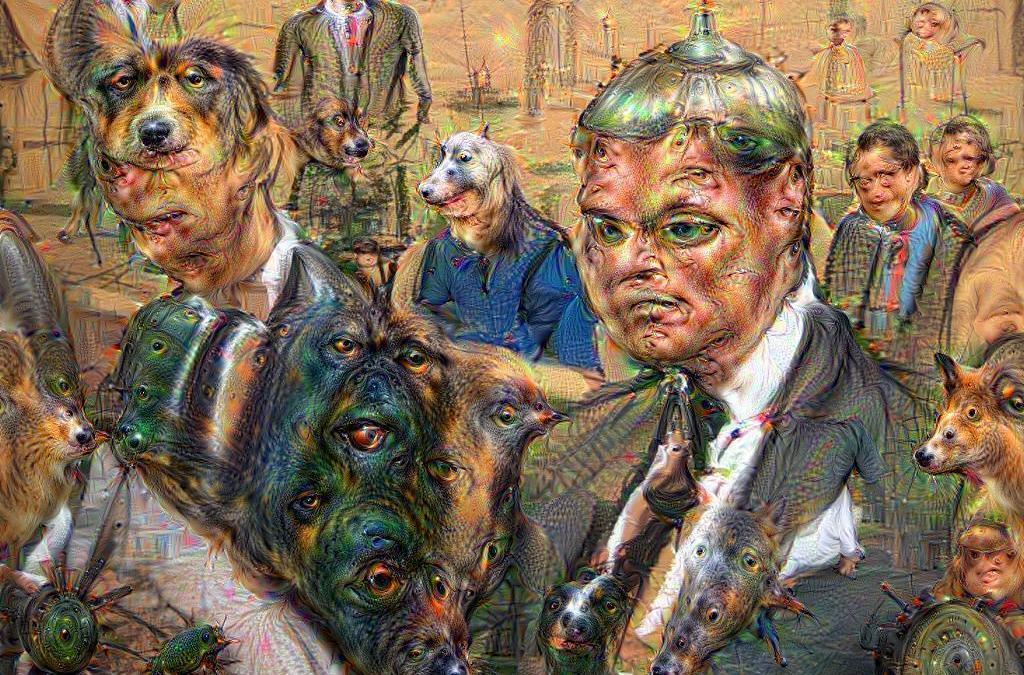 Tom Brady courtroom sketch gets even weirder with Google's DeepDream