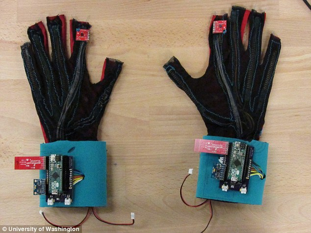 'SignAloud' gloves translate sign language movements into spoken English