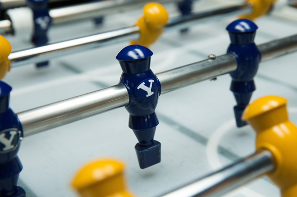 Can AI beat you at Foosball? Yes. Yes it can