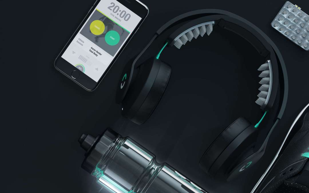 Headphones Designed to Improve Athletic Performance with Energy Pulses