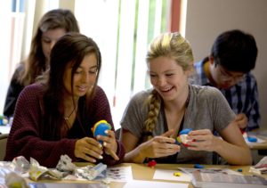 Neuroscience camp: Teens learn about mental health