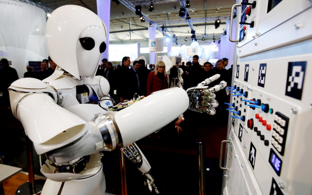 Tech giants team up to protect humans — and jobs — from robots