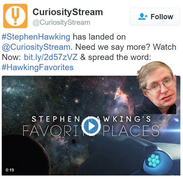 Alien contact could destroy us warns Stephen Hawking