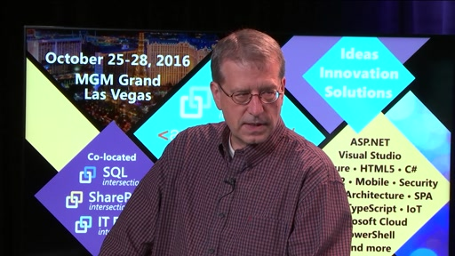 James McCaffrey and Richard Campbell talk about R and Machine Learning at DEV Intersection …