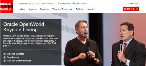 Hope you can come to my Oracle Advanced Analytics and Machine Learning talks at Oracle …