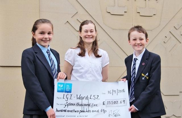 St Olave's School, York raises over £15000 for children's neuroscience ward