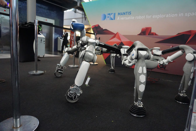 Six-Legged MANTIS Among Machines Swarming Out of Sci-Fi Into GTC Europe