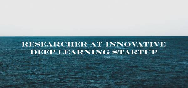 Researcher at innovative deep learning startup