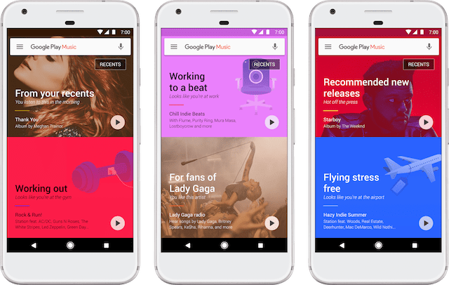 Google Play Music Now Uses Machine Learning to Offer Personalized Recommendations