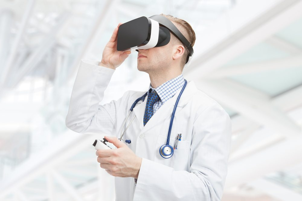 Medical Training Augmented by Virtual Reality