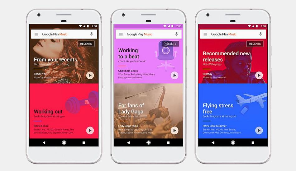 Google Play Music Update: A new homescreen and machine learning