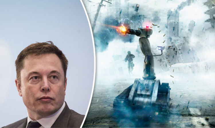 When AI robots are in the streets killing us it will be too late, says tech guru Elon Musk