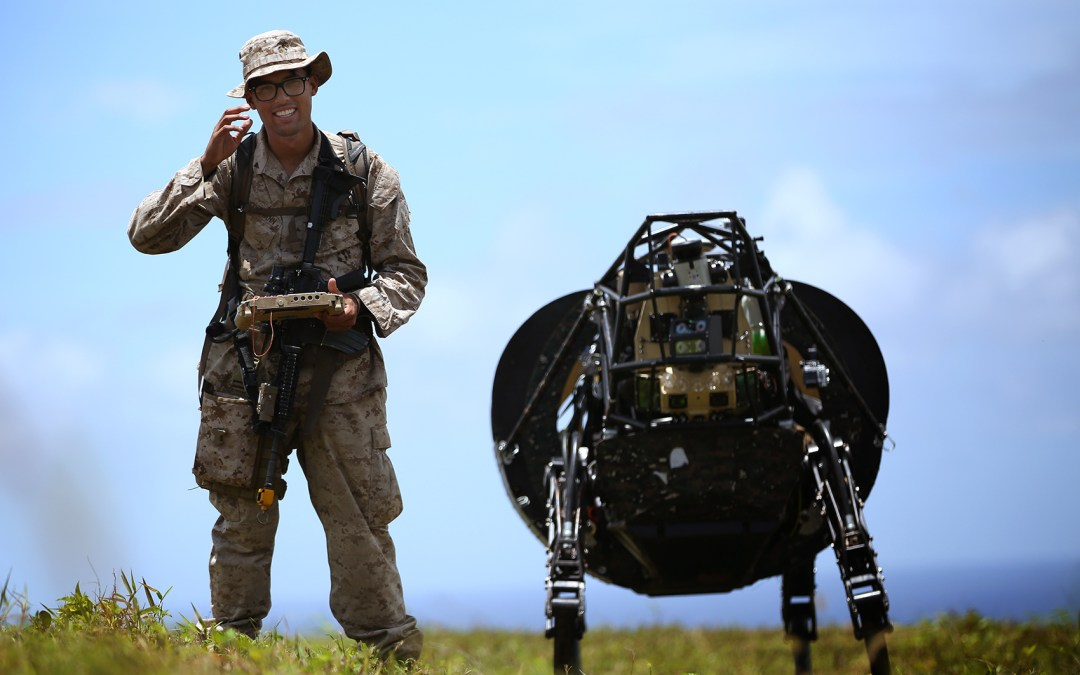 Future infantry might not need humans