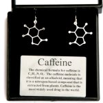 Anatomology-Caffeine-Molecular-Structure-Earrings-0
