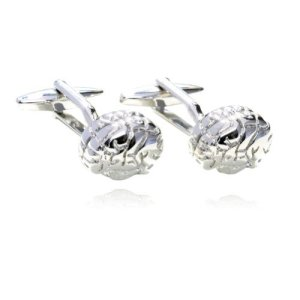 Digabi-Fashion-Design-Brains-Platinum-Cufflinks-with-Gift-Box-High-Quality-0