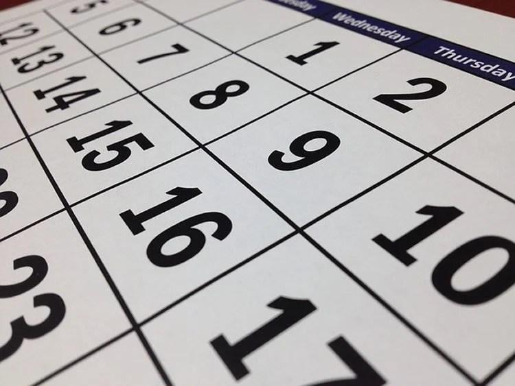 This image shows a calendar.